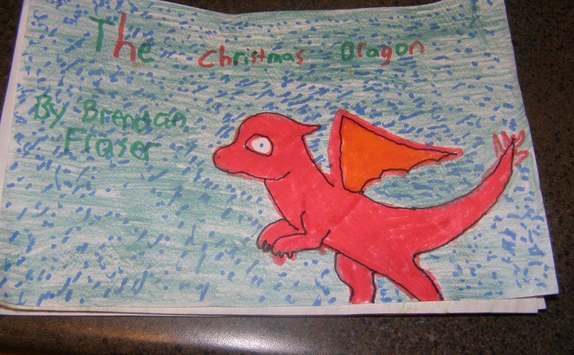 THE CHRISTMAS DRAGON!