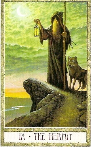 The Hermit Tarot Card Meaning In Readings Isolation