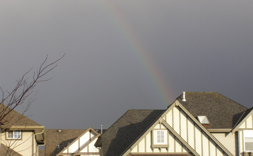 SOMEWHERE OVER THERAINBOW!