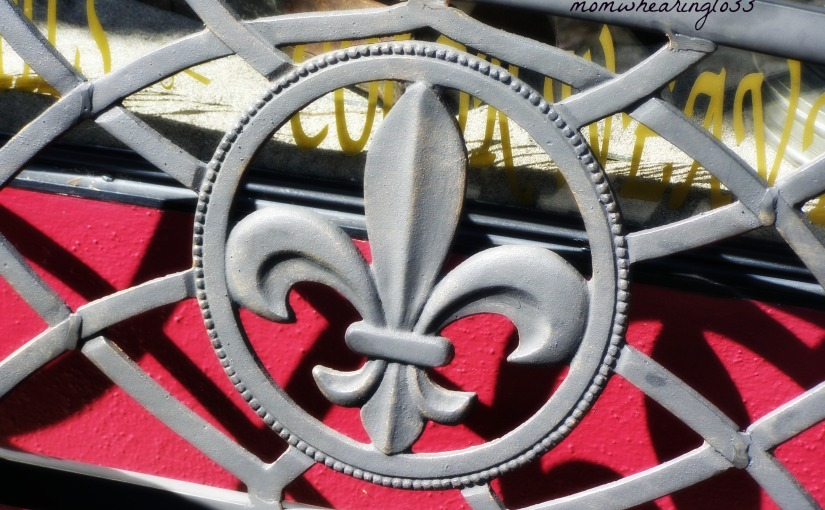 THE FLEUR DE LIS – FRIDAY'S PHLOG FOR SEPTEMBER 7, 2012