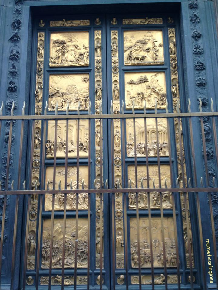BAPTISTERY DOORS – FRIDAY'S PHLOG FOR MARCH 29, 2013