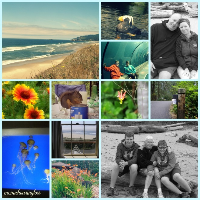 oregon coast collage