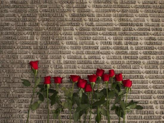 911 rose memorial