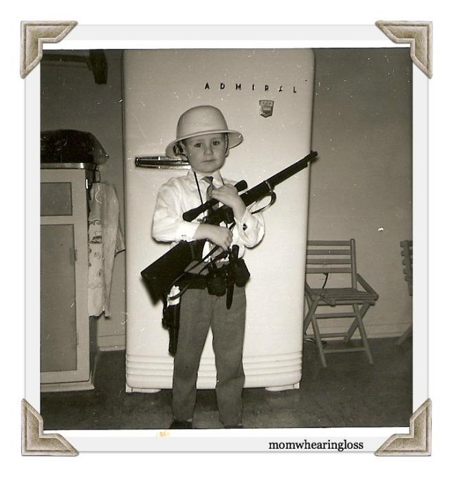boy and his gun