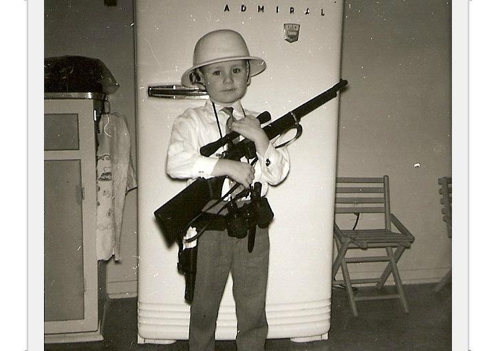 A BOY AND HIS GUN – FRIDAY'S PHLOG FOR NOVEMBER 8,2013