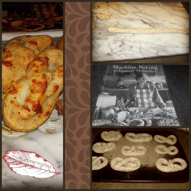 pretzel collage