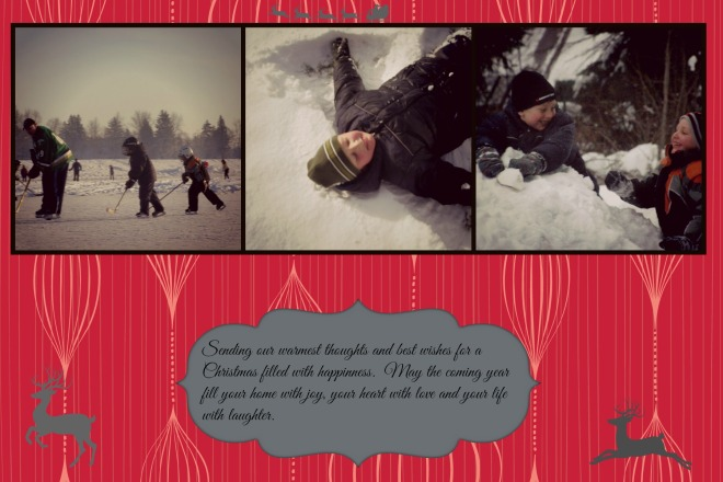 christmas cards example