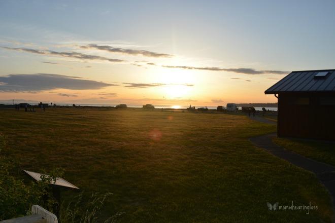 sunset birch bay