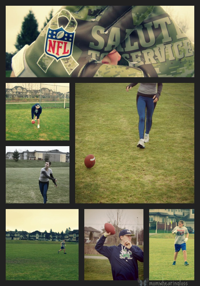 football collage