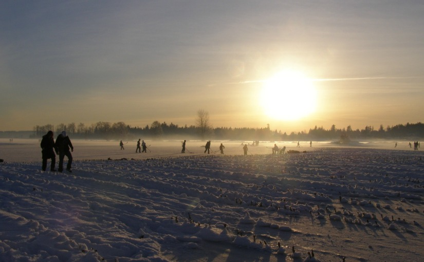 SKATING WITH THE SUN – FRIDAY'S PHLOG FOR DECEMBER 19TH, 2014.