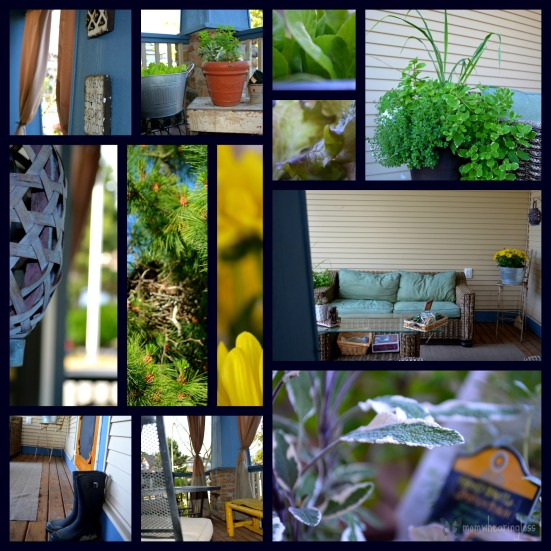 summer living collage
