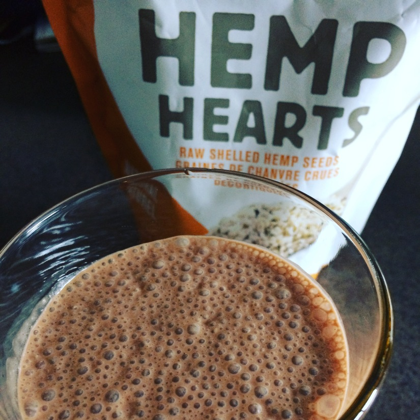 SALTED CHOCOLATE HEMP SHAKE FORTWO